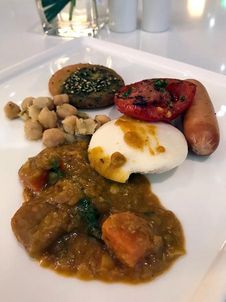 异国风味十足的健康早餐