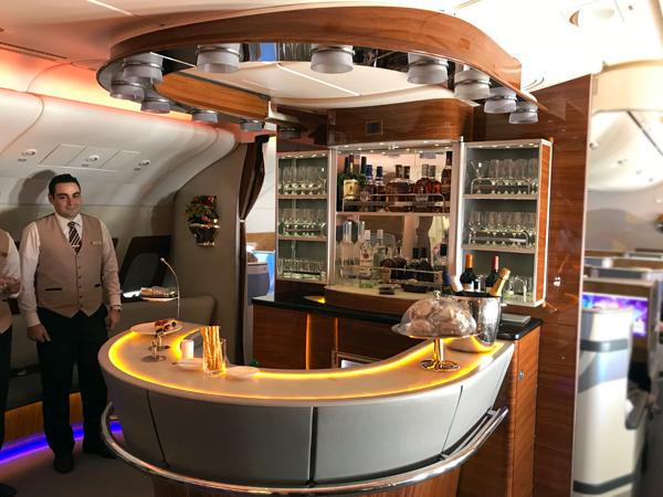 A380 机上酒吧