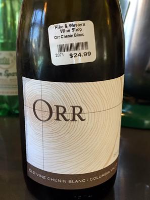 2015 ORR Old Vine Chenin Blanc