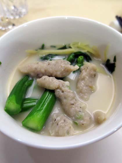 魚湯魚滑浸時蔬