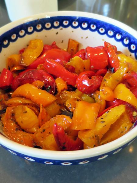 拌烤綜合椒