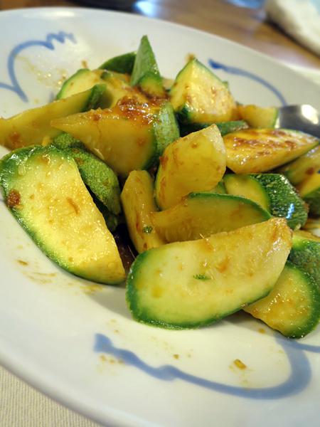 蝦籽炒櫛瓜