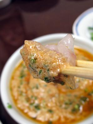 沾鮟鱇魚肝醬
