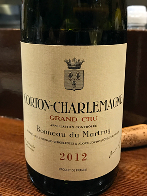 2012 Domaine Bonneau du Martray Corton Charlemagne Grand Cru