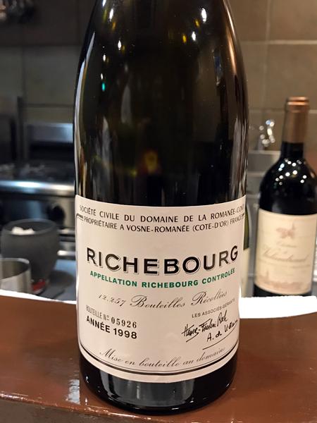 1998 Domaine de la Romanée-Conti Richebourg Grand Cru