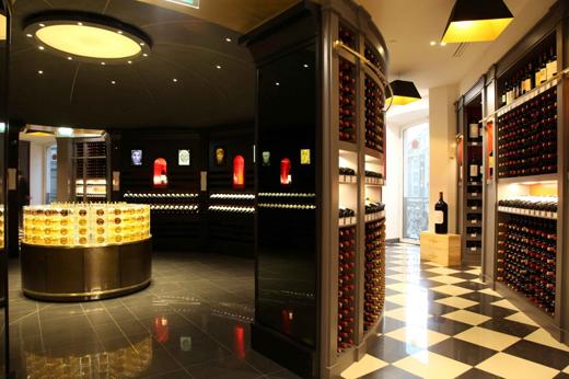 La Bordeauxtheque(courtesy of Galleries Lafayette)