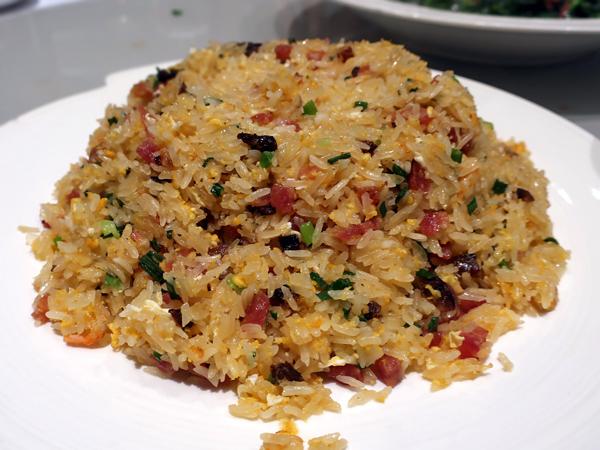 生炒臘味糯米飯