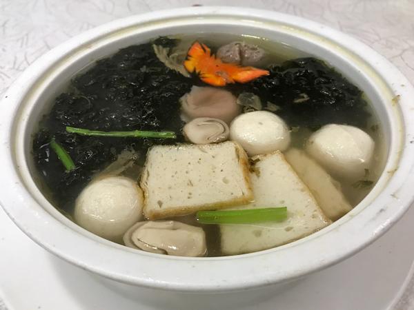 生炆魚皮餃加料放大版