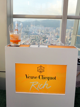 Veuve Clicquot Rich 快閃酒吧