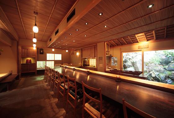 餐室一景(Photo Credit: Kyoto Restaurant Winter Special 2015)