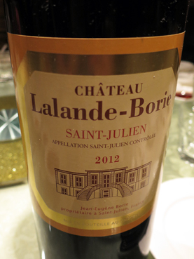 2012 Ch Lalande-Borie