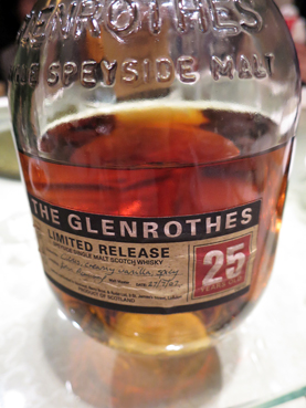 Glenrothes 25Y