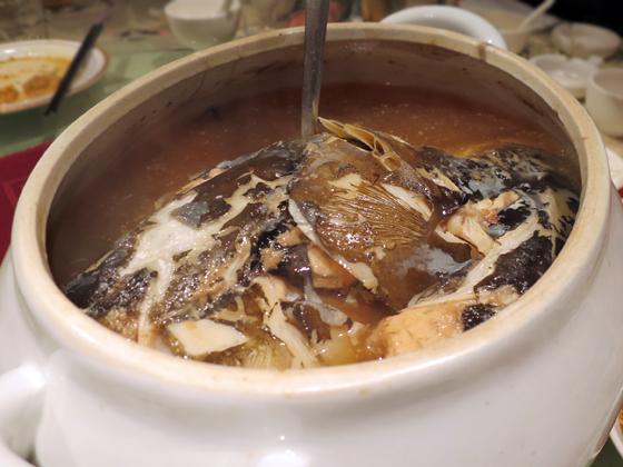 天麻燉魚頭湯