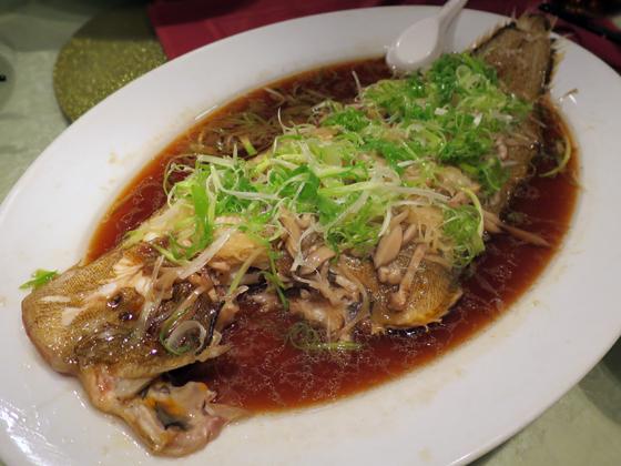 清蒸方利魚