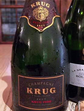 1998 Champagne KRUG Brut