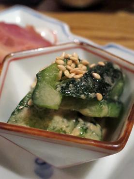 芝麻醬雞胸肉黃瓜