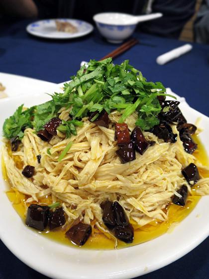 腐竹熗蘑菇