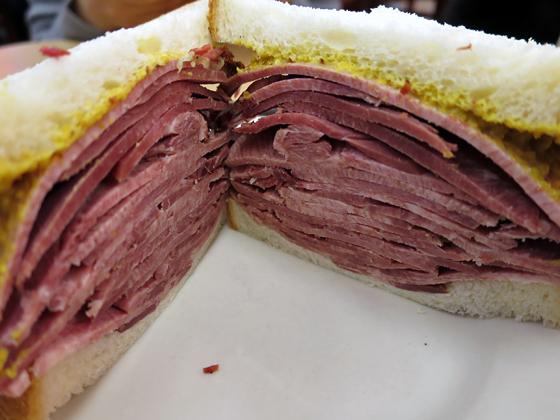 Beef Tongue Sandwich