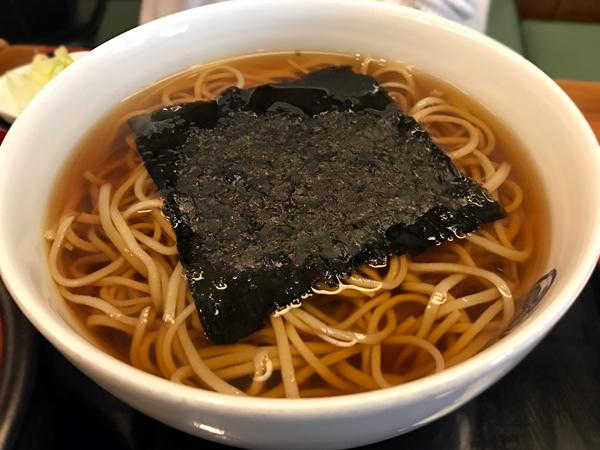 山藥泥蕎麥湯麵