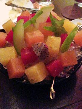 加泰隆尼亞水果沙拉