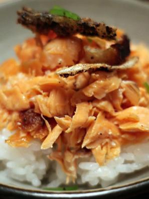 鮭ハラスご飯