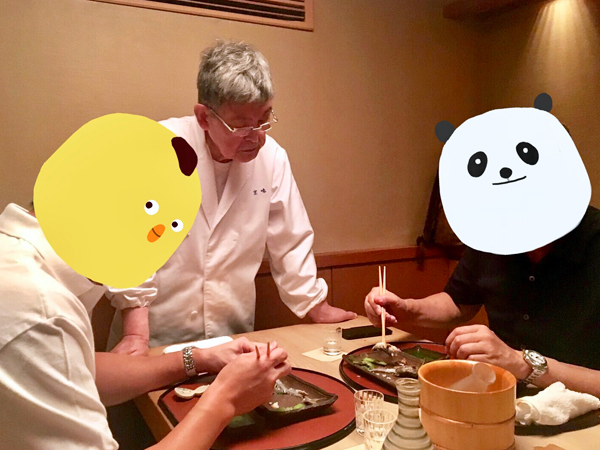 西老闆教如何吃香魚