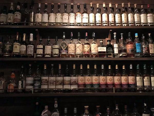 威士忌选择丰富