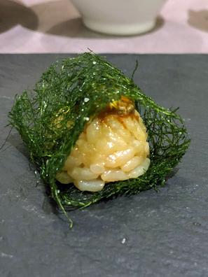 辣味海苔饭团
