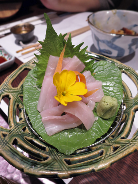 白帶魚生魚片