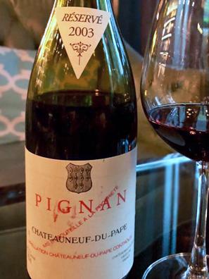 2003 Pignan CndP Reserve