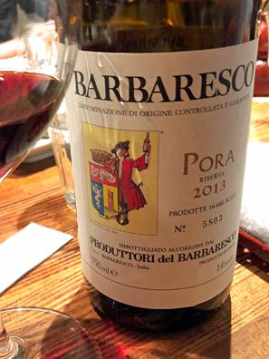 2013 Produttori del Barbaresco Pora, Barbaresco Riserva DOCG