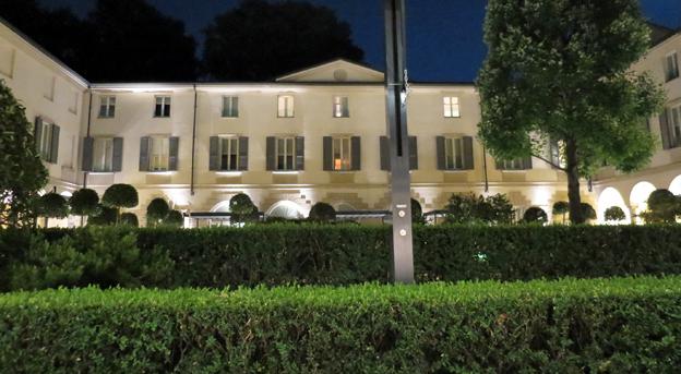 米蘭四季酒店中庭
