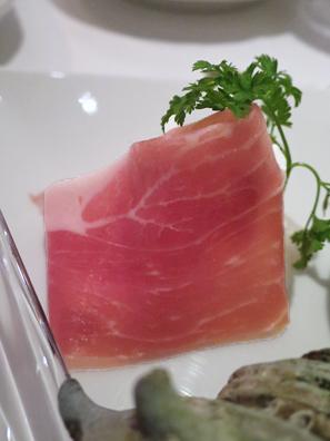 帕玛火腿佐柿子