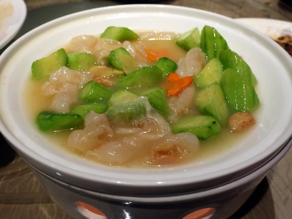 清雞湯花膠燴青瓜