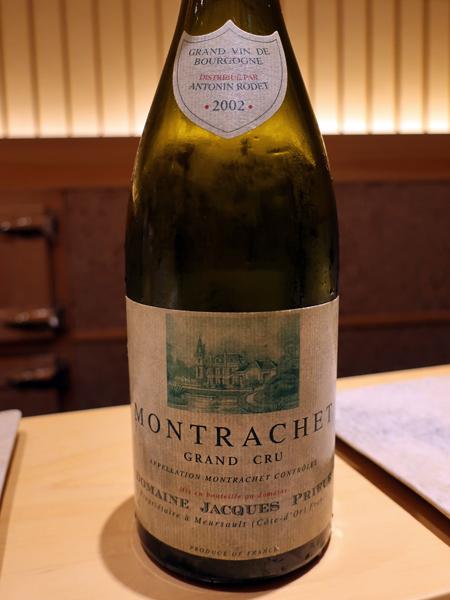 2002 Domaine Jacques Prieur Montrachet Grand Cru