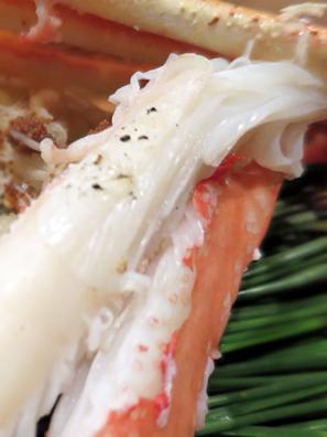 約七分熟的蟹腳