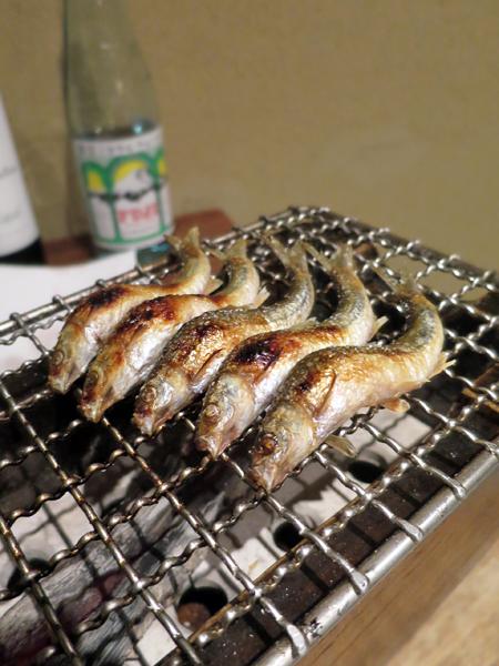 烤琵琶湖本諸子魚