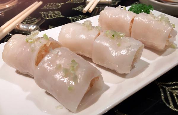腸粉脆蝦卷