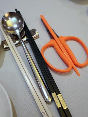 食蟹工具等