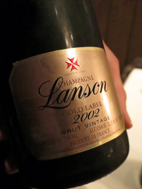 2002 Lanson Gold Label Brut