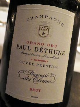 Paul Déthune Cuvee Prestige Princesse des Thunes Grand Cru Brut