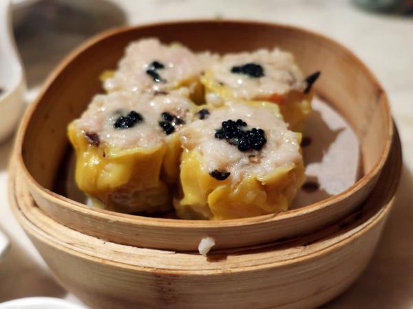黑魚子香菇燒賣皇