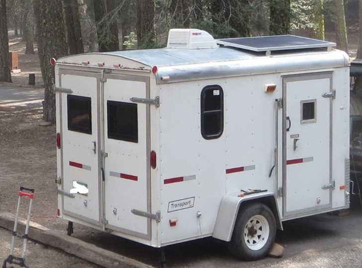 Cargo Trailer Converted To RV For Sale Sold