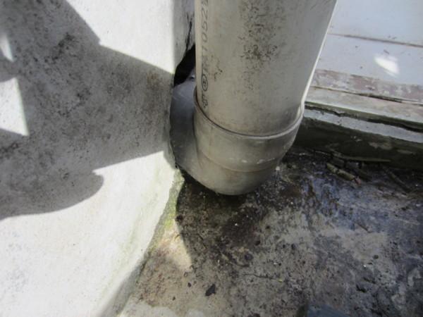 我家3樓的排水管