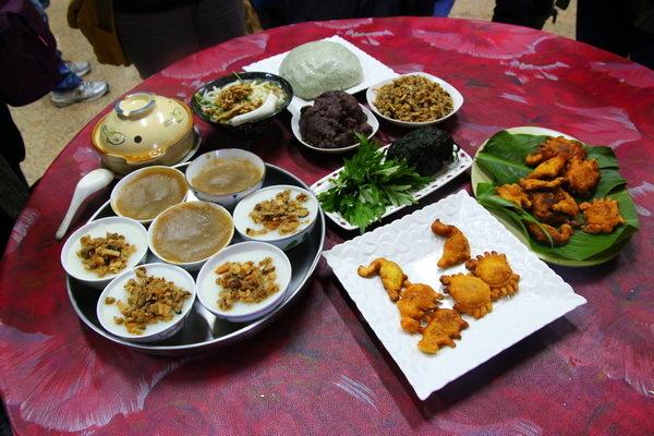 位於新埔鎮照門休閒農業區的竹嵐園,以傳統客家風味米食聞名。