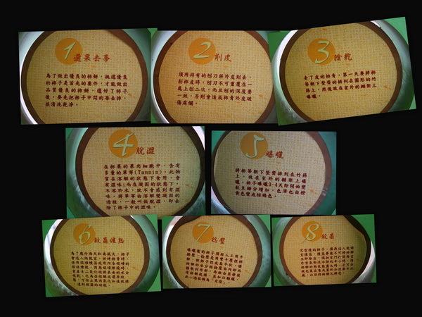 但由於成熟的澀柿非常嬌嫩,所以在其尚未成熟就先行採收,加工製造成柿餅。