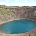 冰島的火山口湖