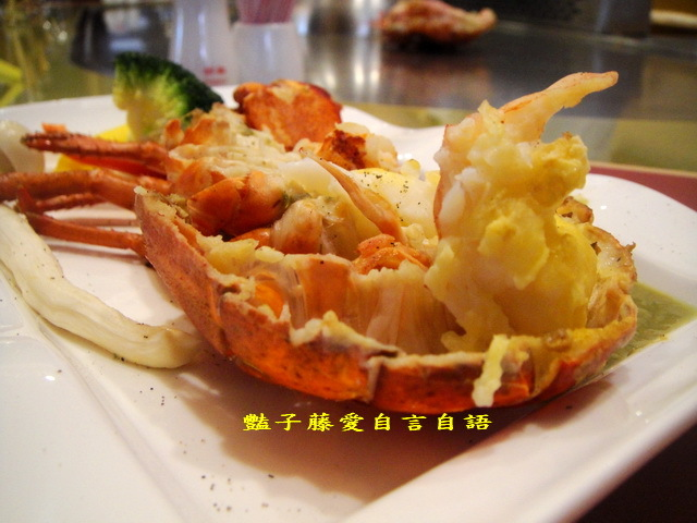 賽薇亞鐵板燒餐廳.波士頓龍蝦雙人套餐【豔子藤就是愛美食】