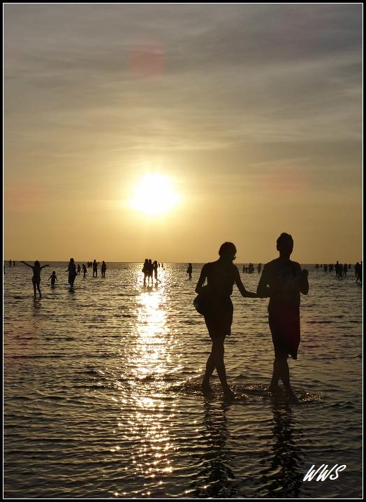 高美濕地幾度夕陽紅- 薇薇的天空- udn部落格