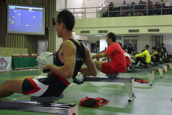 101年冬季全國室內划船(測功儀)排名賽暨2013亞洲室內划船錦標賽國手選拔